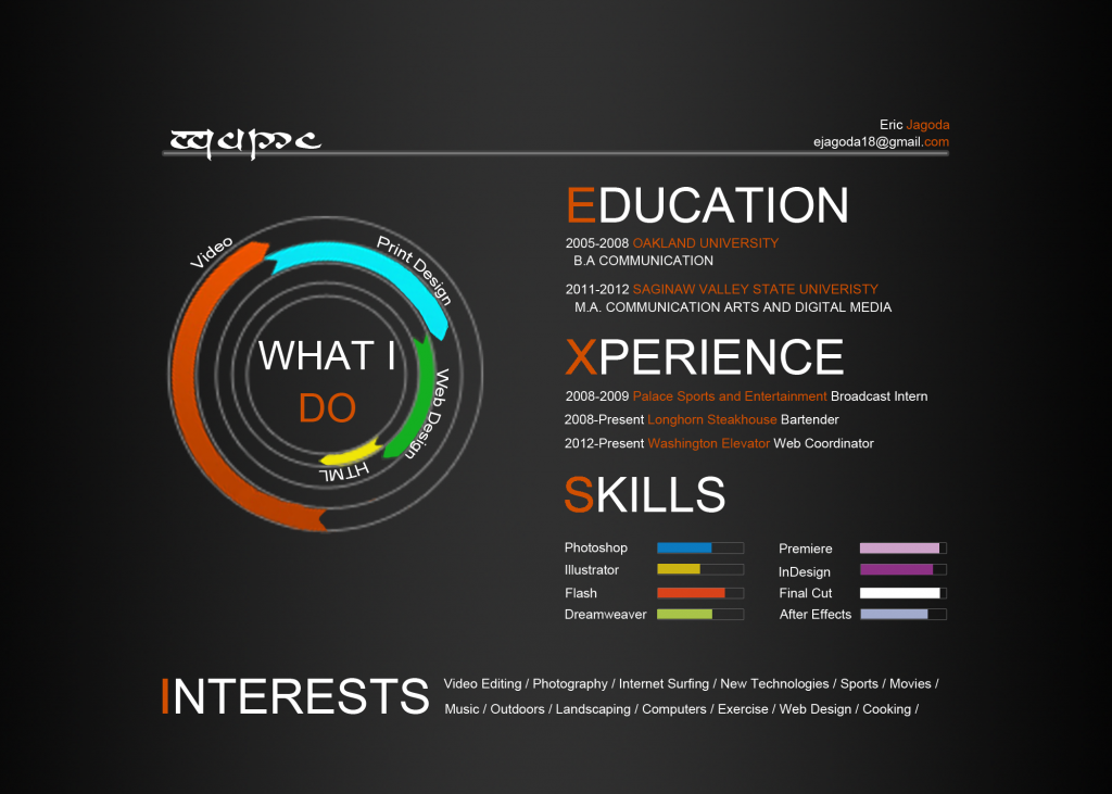 How to Design an Infographic Resume to Land on Your Desired Job